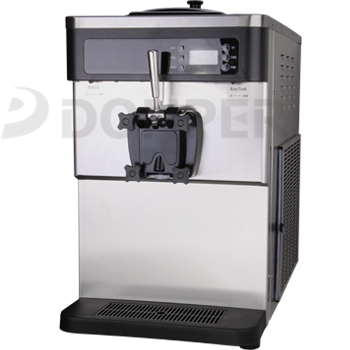 Single nozzle kiosk soft server machine D828