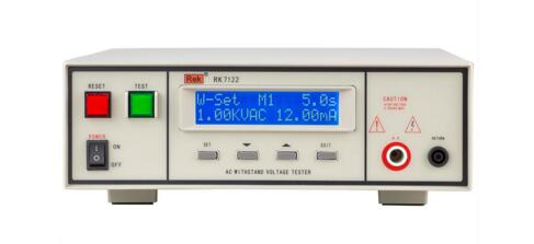 RK7122 Programmable hipot and insulation tester