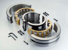 The split spherical roller bearing 222S.208