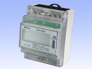 Single Phase Two Wires Din Rail Energy Meter With Multi-tariffs DRS-202M