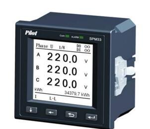 SPM33 LCD Harmonic Multifunction Power Meter