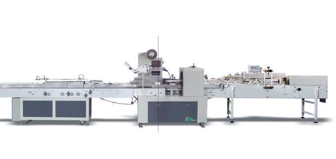 Высокоскоростная автоматическая упаковочная машина бумаги рулона DK-500