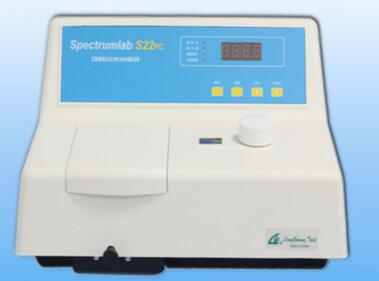 S22PC Visible Spectrophotometer