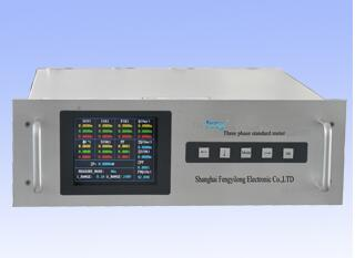 Intelligent and multifunctional three phase standard meter SYS312
