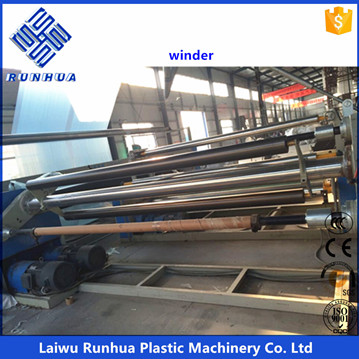 20 m LDPE transparent  agricultural greenhouse blown film equipment
