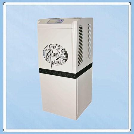 Air cooled water distiller
