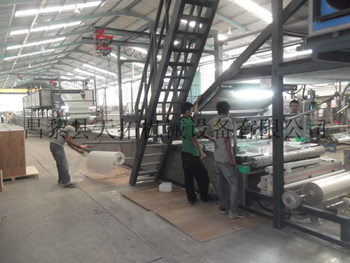 FRP gel coat sheet production line