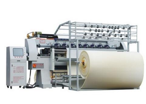 A series of Computerized Non-shuttle(chain stitch) Multi-Needle Quilting Machine