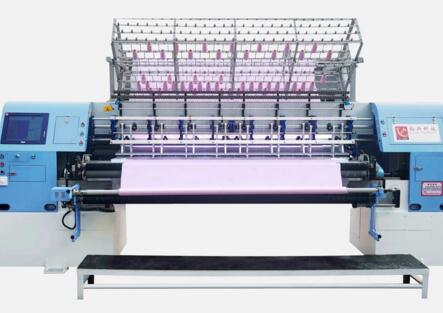 C series of Computerized Shuttle(Lock Stitch) Multi-needle Quilting Machine