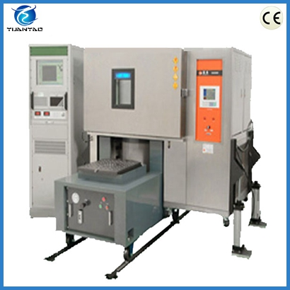 Vibration shaker combined environmental chamber