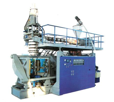 QCM-100-160L Full-automatic extrusion blow moulding machine