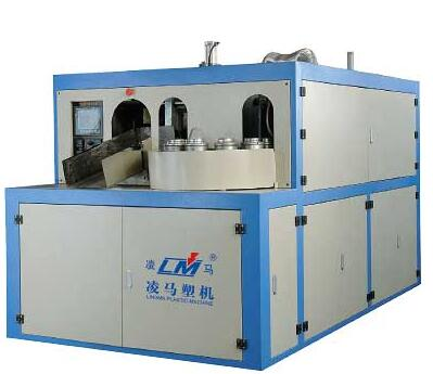 Wide-Mouth Automatic Blow Moulding Machine(Preform Inserted By Hand)