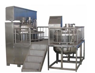 RH-150/250/350 Vacuum Emulsifying unit (snorkels type)