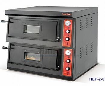 HGP-2-6 Gas Pizza Oven (2-deck)
