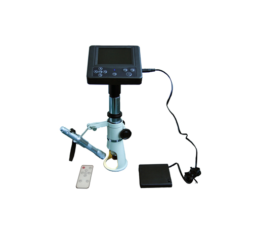 M100-6R LCD Wireless control hand LCD digital stereo microscope