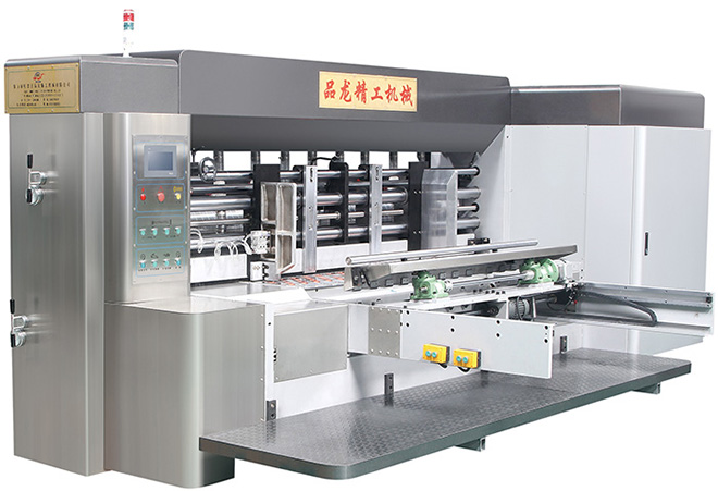 PL High-speed ink printing slotgting machine