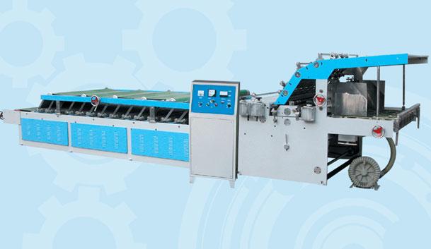 DZF1300-E Semi automatic laminator