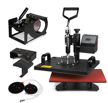 VEVOR Combo Heat Press Mug Plate Printing Machine