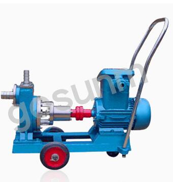 Stainless steel self-priming pump