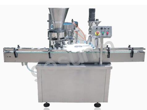 Particles (powder) filling machine GSQ-Z-FJGZQ-1A01