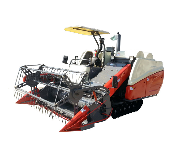 4LZ-3.6 Double Threshing Rice and wheat Combine Harvester