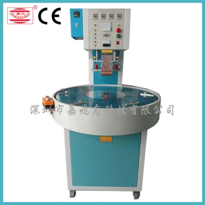 Automatic rotary 3 work station high frequency welding machine