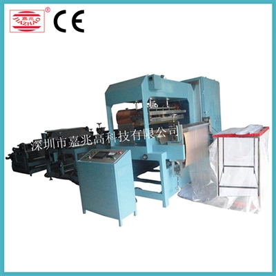 High power high frequency automatic bag forming machine