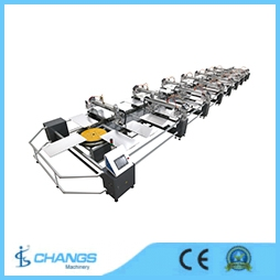 SPO Series Automatic Oval Type screen Printing machine
