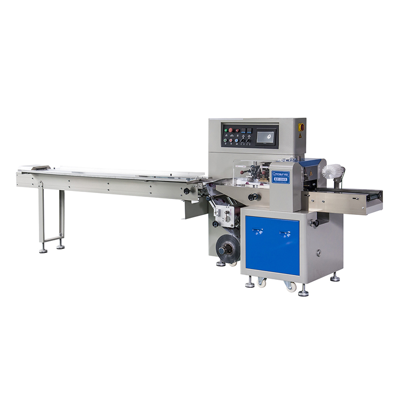 KT-250X/KT-350X Down-paper Horizontal Flow Pack Machine