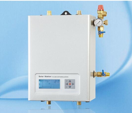 solar pump station SR961s split pressure solar water system