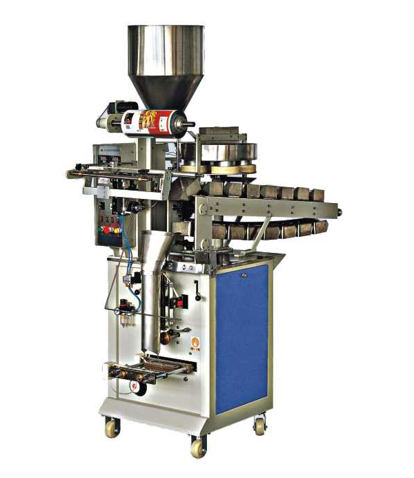 ZV-380AB Automatic packaging machine with volumetric cup and chain bucket