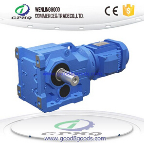 K helical gear - bevel gear reducer