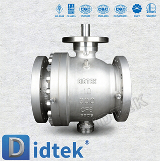 Cast Trunnion metal Seated Ball Valve