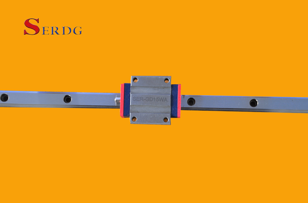 Linear guide rail and slider SER-GD15NA