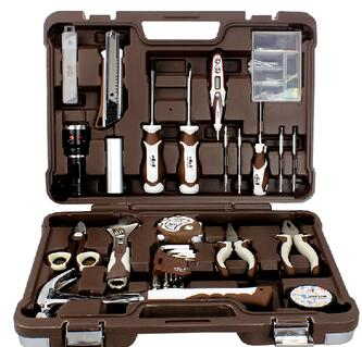 79pcs Multifunctional household Tool Set Machine Tool Machinery Tool Used With Tools From Germany