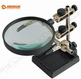 Hand held magnifying glass of Zhongdi or magnifying glass with stand