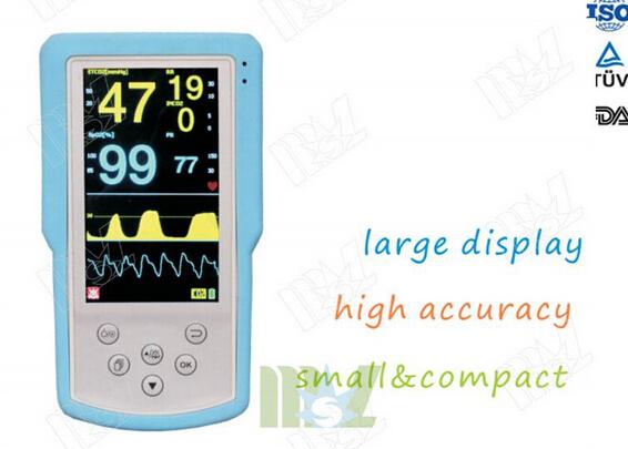 Handhold ETCO2 & SPO2 Monitor MSLMP05