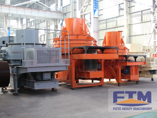 Future Development of FTM Sand Making Plant