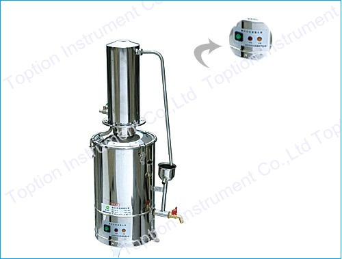 Water-break and Self-control Stainless Steel Water Distiller
