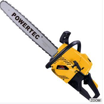 POWERTEC Easy Start 3kw 2-Stroke 62cc gasoline india chainsaw