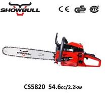 Motosierra de China 54cc cheap chinese gasoline chain saws