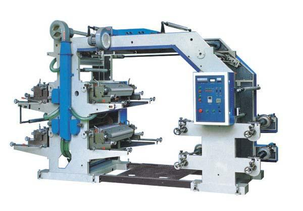 YT series 4 color flexographic printing machine