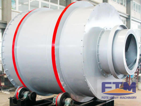 Excellent Performance of Fote Sand Rotary Dryer