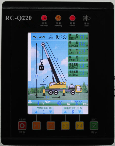 RC-Q220 Load Moment Indicator