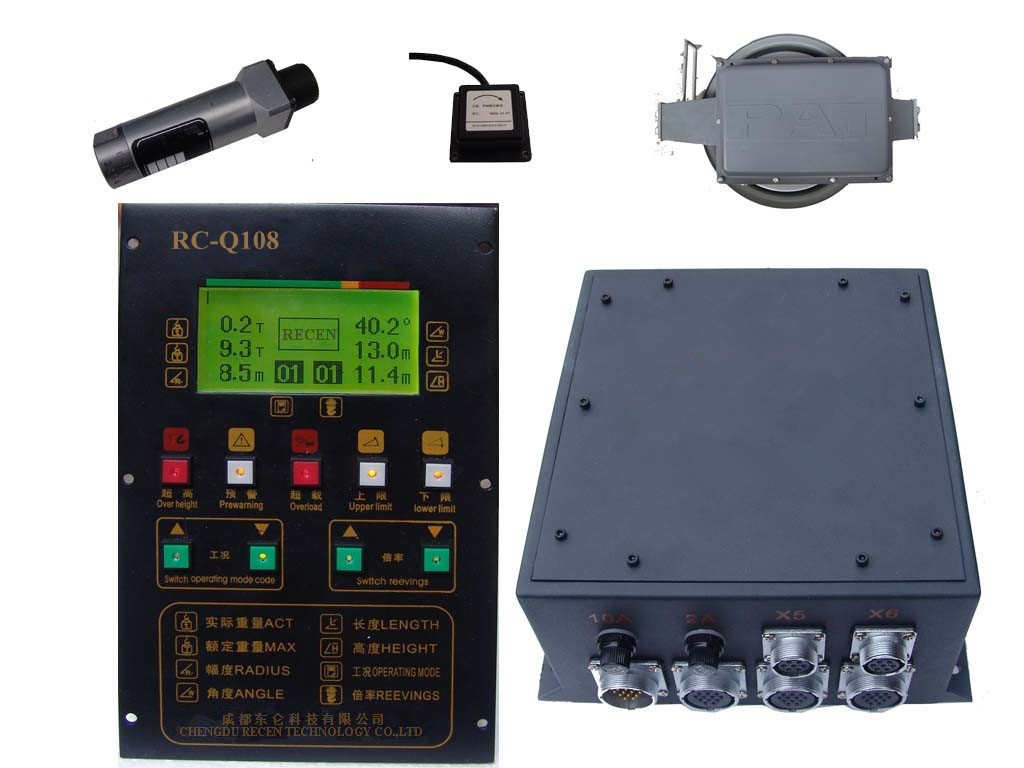 Safe Load Indicator Systems : Rc q load moment indicator equipmentimes