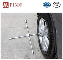 carbon steel cross rim wrench for car