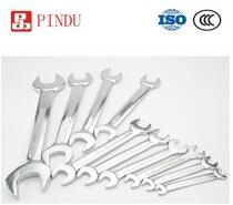 mirror polished double open end wrench