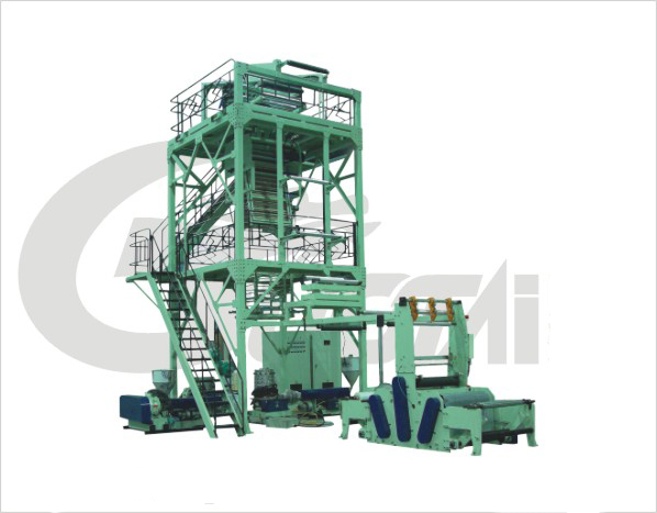 MSJ-GS Series Multi-layer Co-extrusion Packing Film Blowing machine