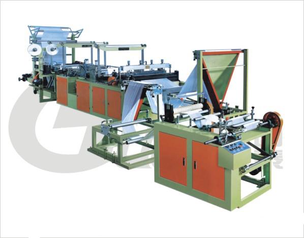 RLD-800、1300 Series Ribbon-through Conituous-rolled Bag Making Machine