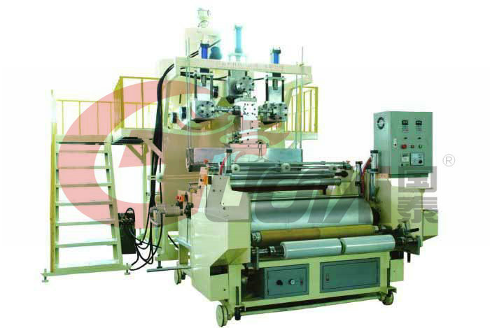 Three layers Stretch Film Machine